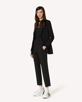 REDValentino Stretch-frisottine blazer