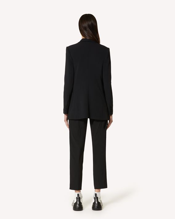 REDValentino Stretch Frisottine blazer