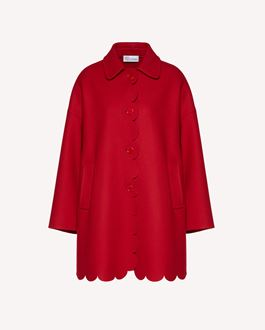 REDValentino Coat Woman SR3CGA15499 0NO a