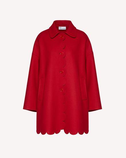 REDValentino Coat Woman SR3CAA75497 D05 a