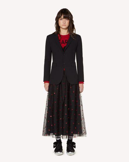 REDValentino Jacket Woman SR3CEA60WBP 0NO f