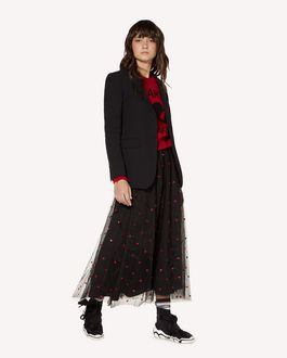 REDValentino Wool and viscose blazer