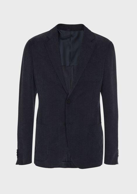 Regular-fit Upton Range Jacket in tweed fabric