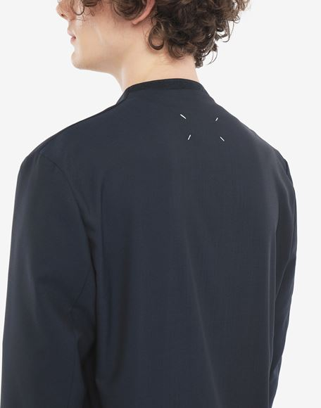 MAISON MARGIELA Collarless blazer Jacket Man b