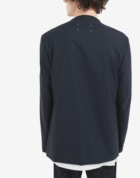 MAISON MARGIELA Collarless blazer Jacket Man e