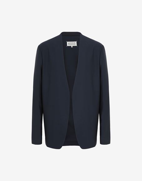 MAISON MARGIELA Collarless blazer Jacket Man f