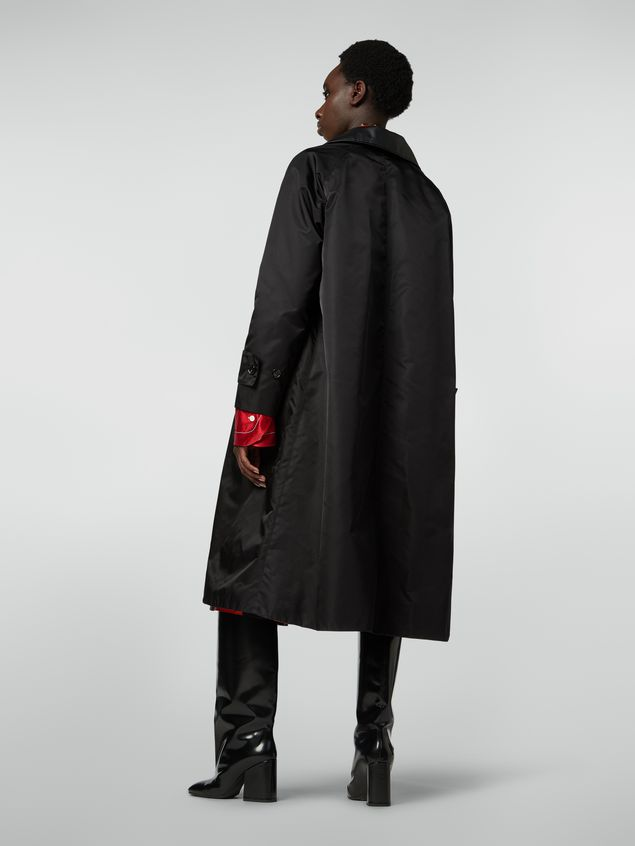 Marni Coat in slightly padded nylon twill Woman
