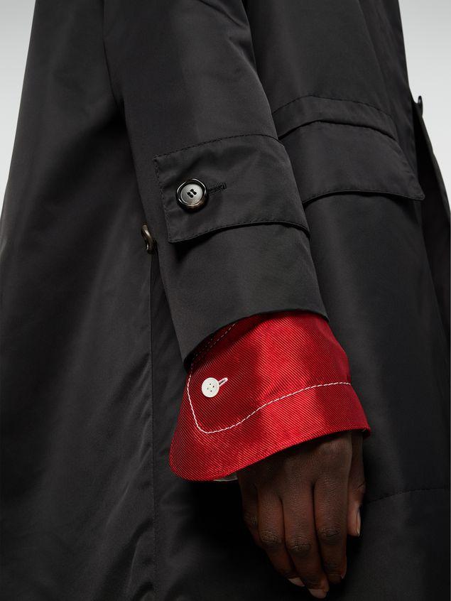 Marni Coat in slightly padded nylon twill Woman - 4