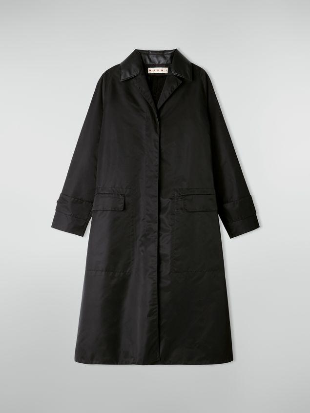 Marni Coat in slightly padded nylon twill Woman - 2