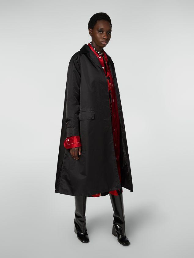 Marni Coat in slightly padded nylon twill Woman - 1