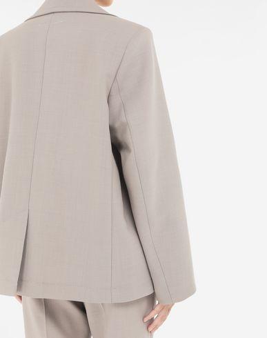 COATS and JACKETS Oversized blazer  Khaki
