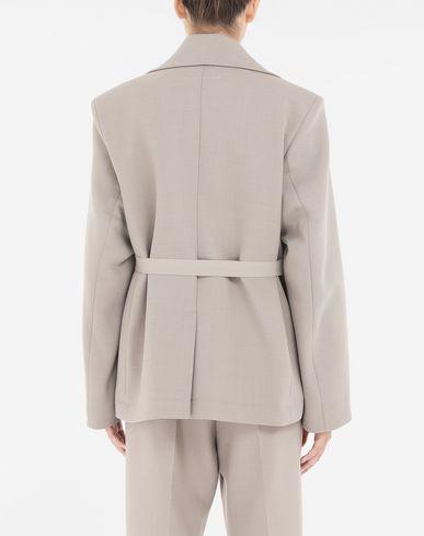 COATS & JACKETS Oversized blazer  Khaki