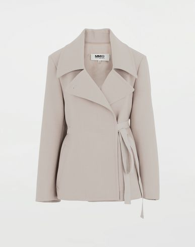MM6 MAISON MARGIELA Oversized blazer Jacket Woman f