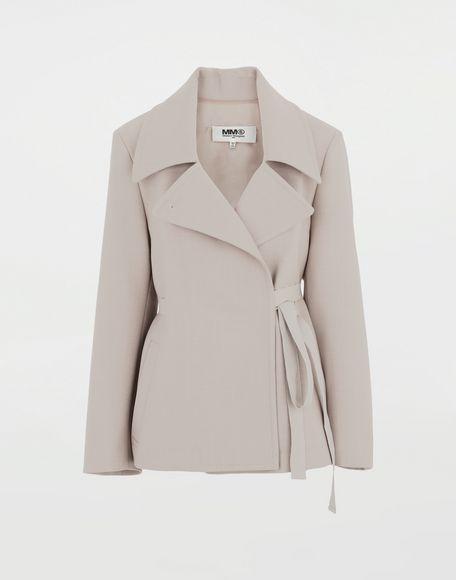 MM6 MAISON MARGIELA Blazer oversize Veste Femme f