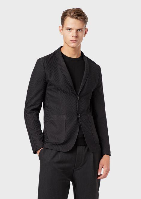 6cb56c6710 Men's Jackets & Blazers | Emporio Armani