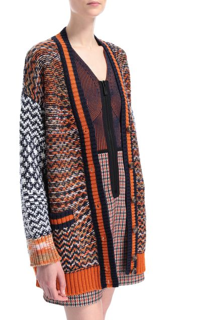 M MISSONI Coat Dark blue Woman - Front