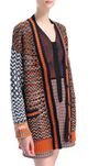 M MISSONI Coat Woman, Rear view