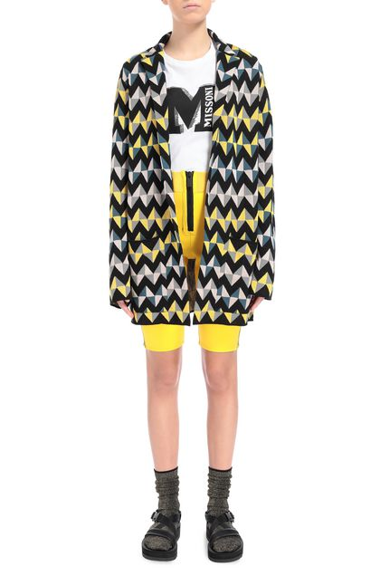 M MISSONI Jacket Yellow Woman - Back