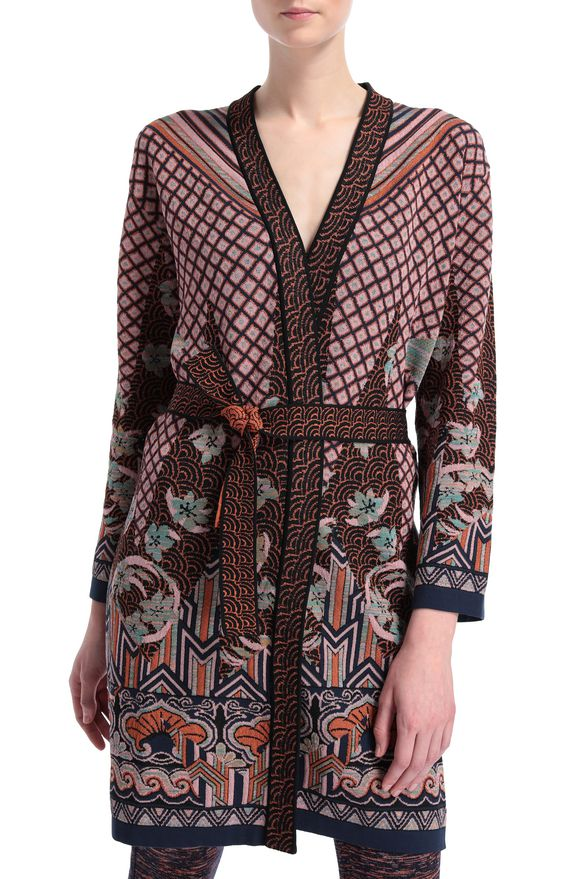 M MISSONI Dust coat Woman, Rear view