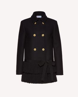 REDValentino Coat Woman SR3CAA45497 0NO a
