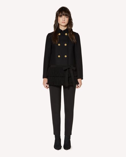 REDValentino Coat Woman SR3CAA48497 0NO f