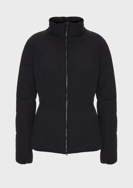Handmade silk nylon jacket
