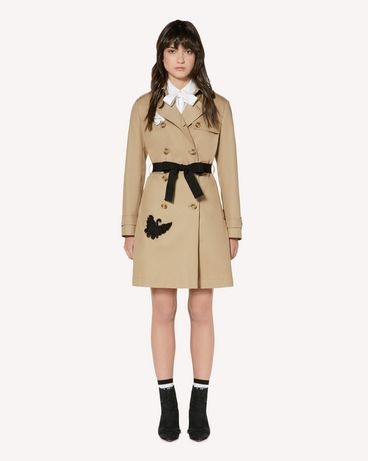 REDValentino SR3CHA102R3 191 Пальто Для Женщин f