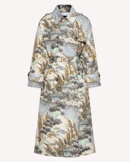 REDValentino Printed dress Woman SR3VAF154A1 GE5 a