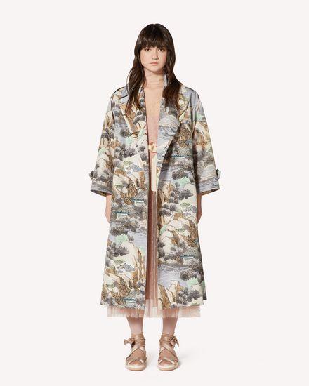 REDValentino Coat Woman SR0VAB204HM DG8 f