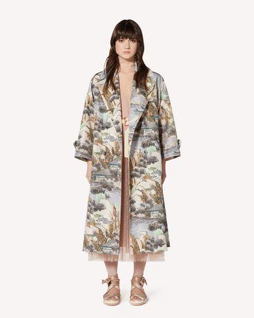 REDValentino SR0VAB204HM DG8 Coat Woman f