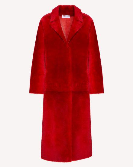 REDValentino Coat Woman SR0FA00D4LA KW0 a