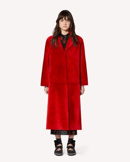 REDValentino Coat Woman SR0FA00D4LA KW0 f