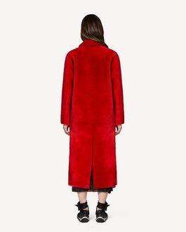 REDValentino Merino fur coat