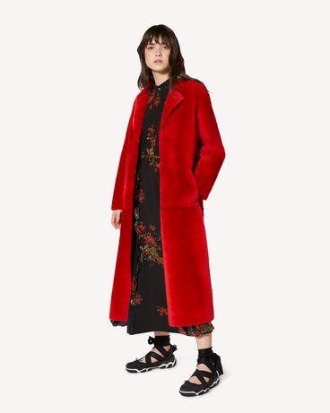 REDValentino SR0FA00D4LA KW0 Coat Woman d