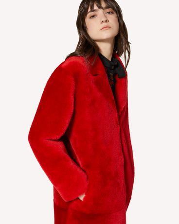 REDValentino SR0FA00D4LA KW0 Coat Woman e