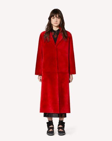REDValentino SR0FA00D4LA KW0 Coat Woman f