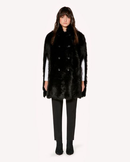REDValentino Coat Woman SR3NB00F4BT 0NO f