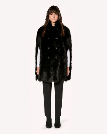 REDValentino SR3NB00F4BT 0NO Coat Woman f