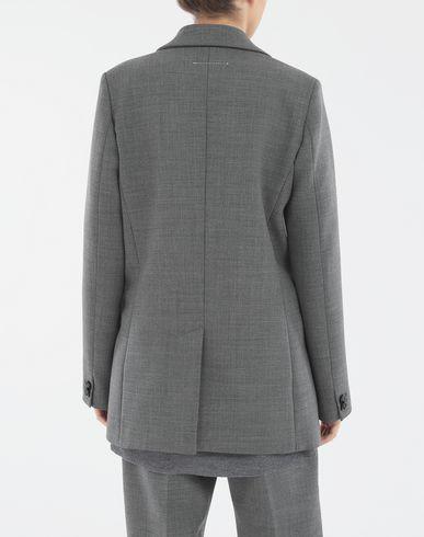 COATS and JACKETS Techno-wool blazer Grey