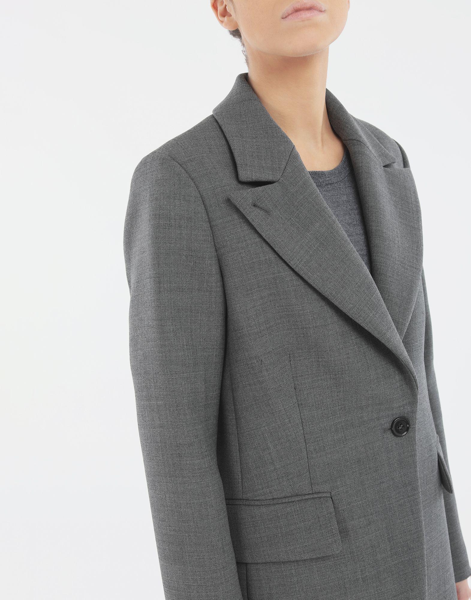 MM6 MAISON MARGIELA Techno-wool blazer Blazer Woman a