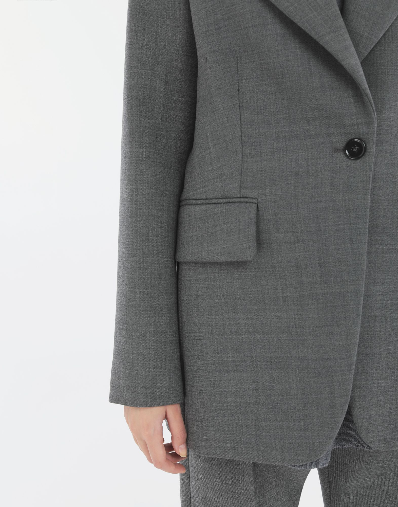 MM6 MAISON MARGIELA Techno-wool blazer Jacket Woman b