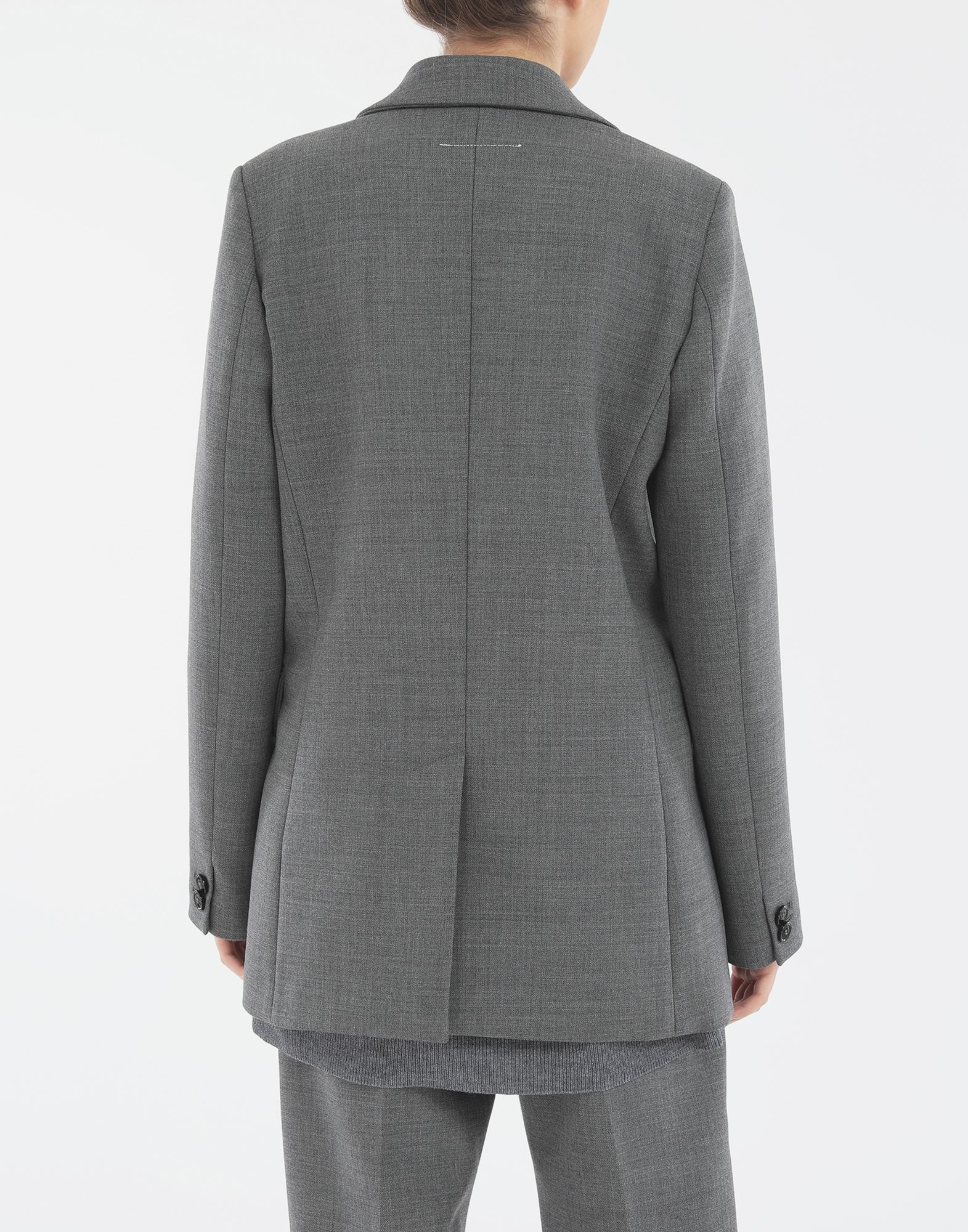 MM6 MAISON MARGIELA Techno-wool blazer Jacket Woman e