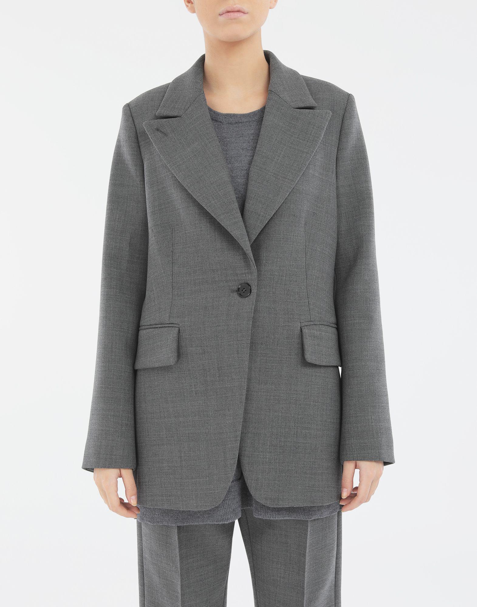 MM6 MAISON MARGIELA Techno-wool blazer Blazer Woman r