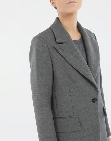 MM6 MAISON MARGIELA Techno-wool blazer Jacket Woman a