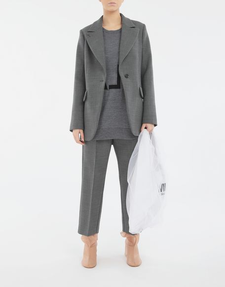MM6 MAISON MARGIELA Techno-wool blazer Jacket Woman d