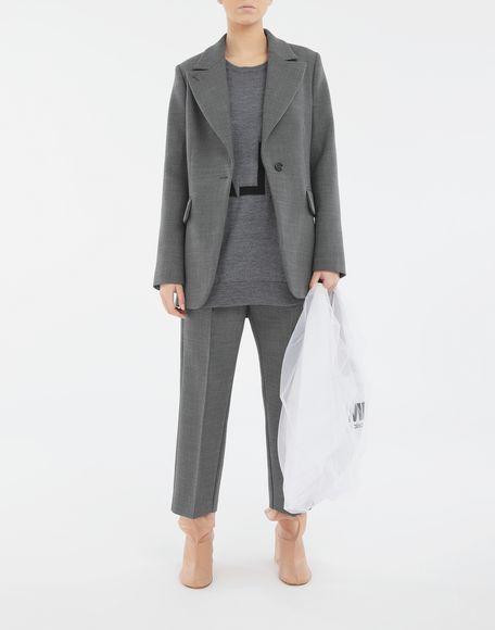 MM6 MAISON MARGIELA Techno-wool blazer Blazer Woman d