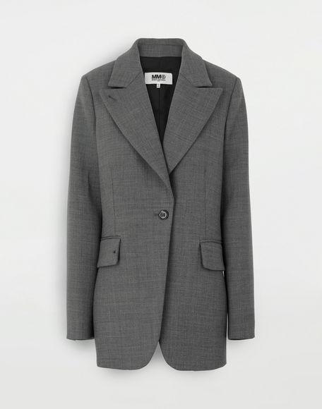 MM6 MAISON MARGIELA Techno-wool blazer Blazer Woman f