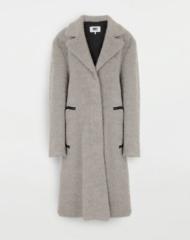 MM6 MAISON MARGIELA Cappotto in mohair Cappotto Donna f