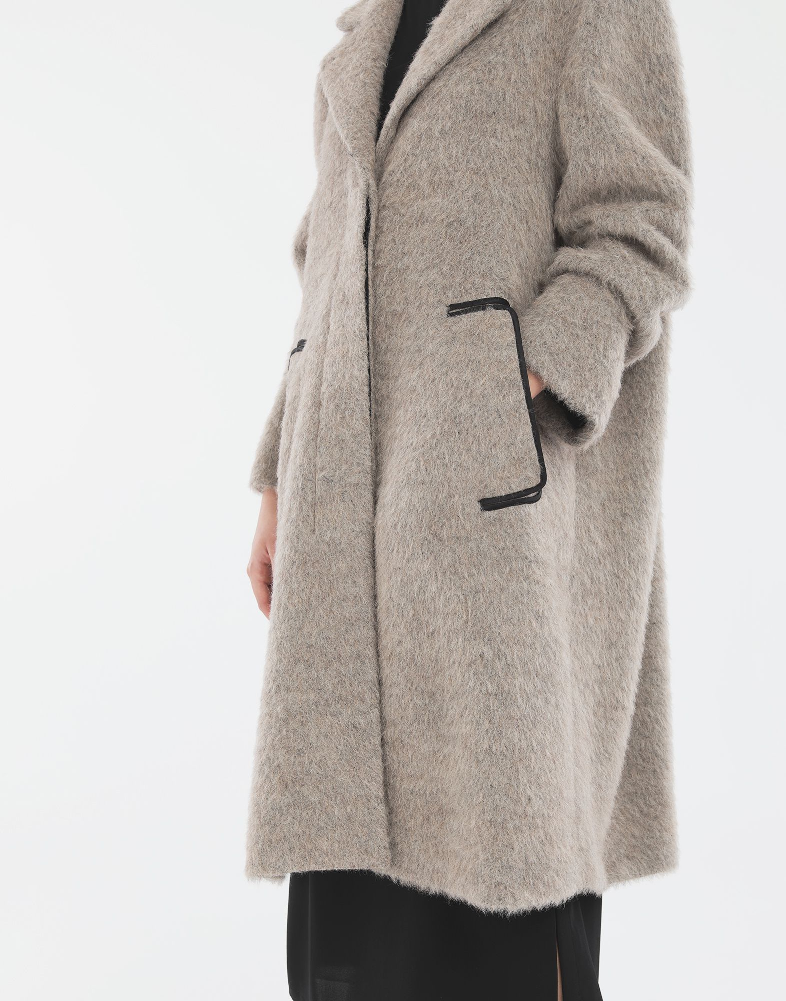 MM6 MAISON MARGIELA Mohair coat Coat Woman a
