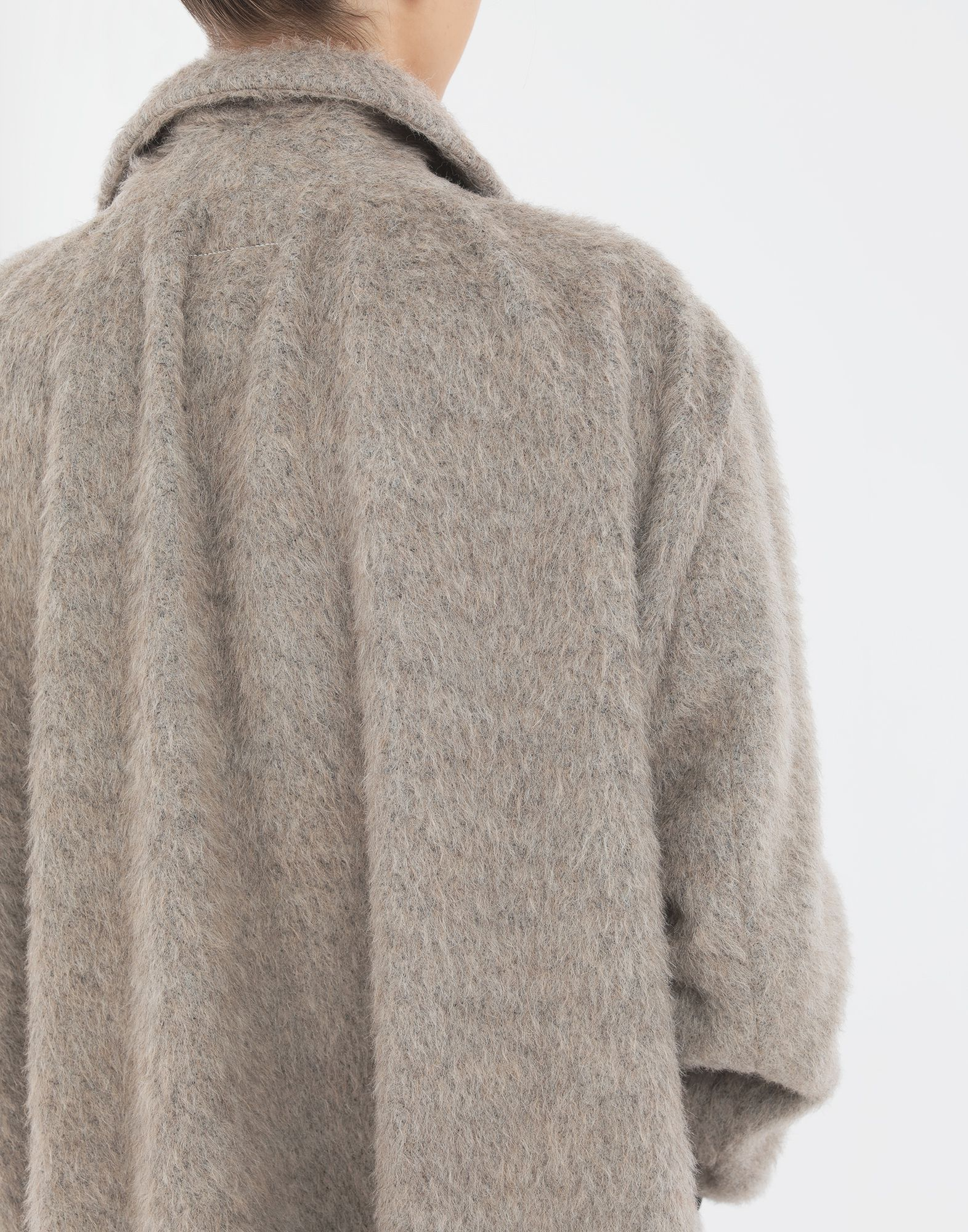 MM6 MAISON MARGIELA Mohair coat Coat Woman b